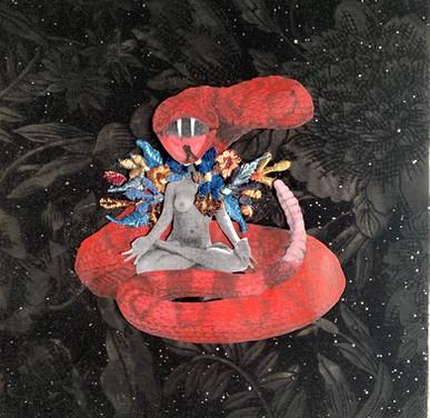 """Shanti Power,"" (Self Portrait)"