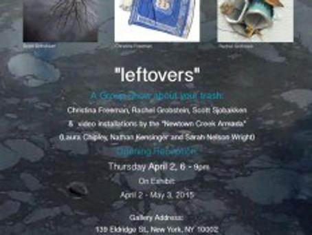 """""""leftovers"""" – AHA Show"""