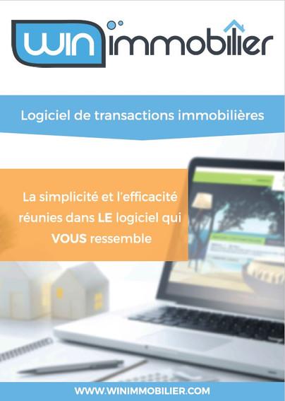 Couverture de la brochure Winimmobilier