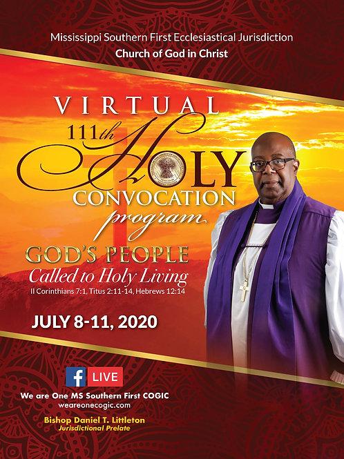 111th Holy Convocation Commemorative Program