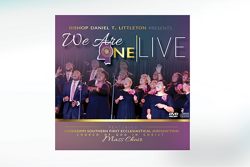 We Are One Live CD/DVD