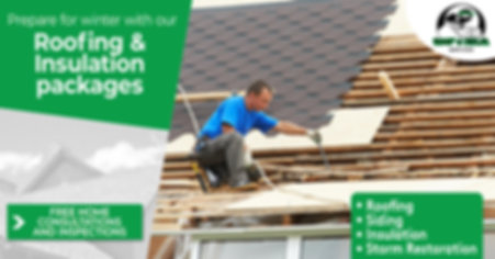 Roofing And Insulation Packages