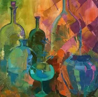 Бутылки волшебные