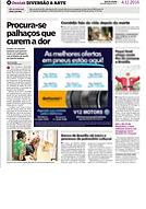 Divulgação curso Profissão palhaç@, no site Brasília Pop (07/11/016)