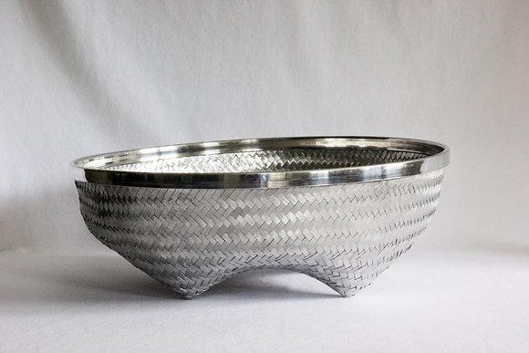 Extra Large Round Basket with Rim