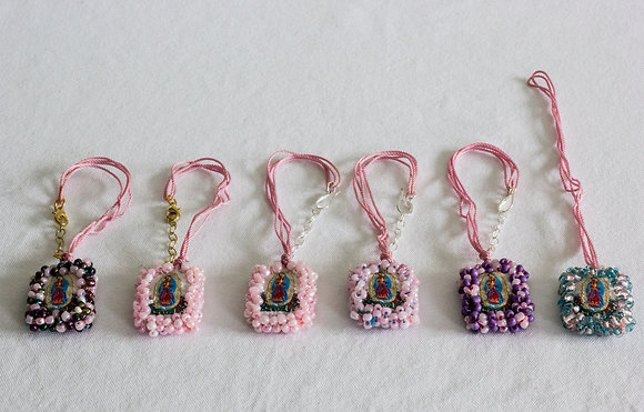 Pink Thread Bracelets with Clasp