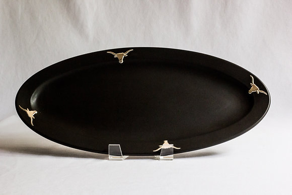 Small Longhorn Oval Platter