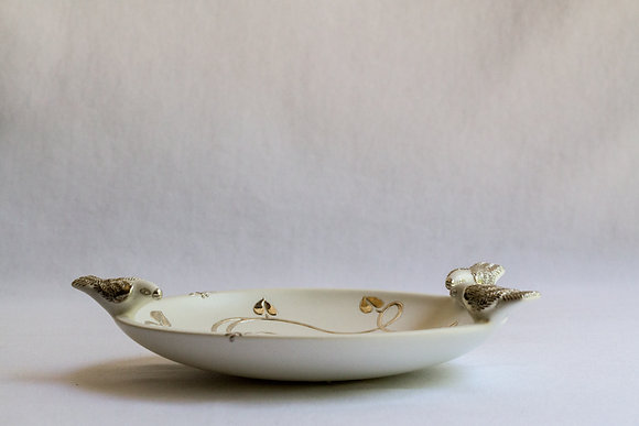 Small Bird Serving Dish