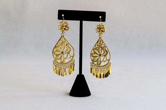 Mexican Earrings (Tear Drop)