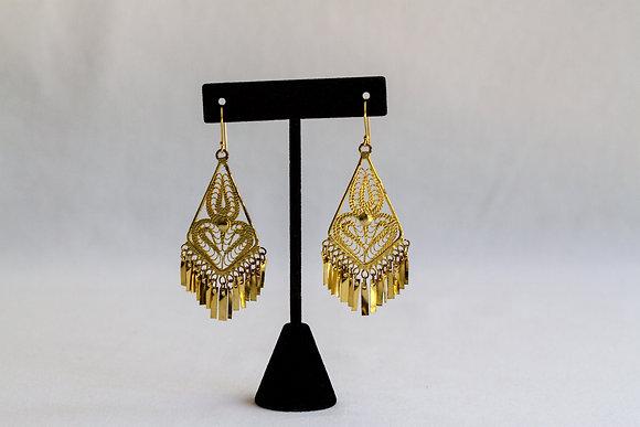 Mexican Earrings (Diamond Drop)