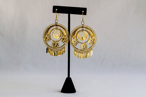 Mexican Earrings (Large Round)