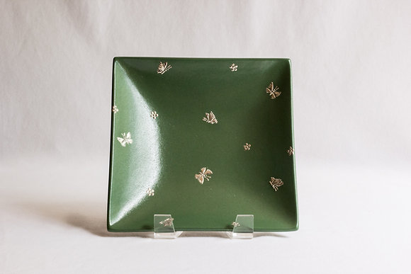 Small Butterfly Square Plate