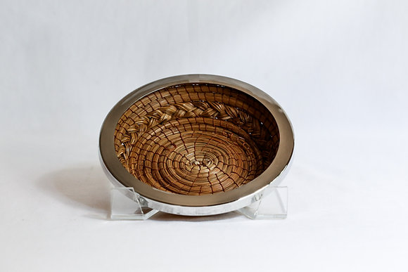 Mini Round Basket with nickel