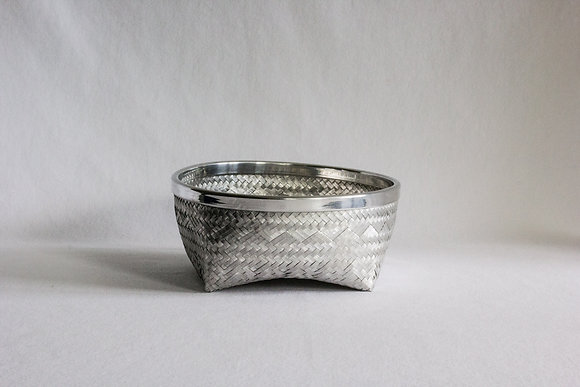 Small Flat Bowl with Rim
