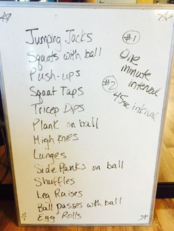 Facebook - Need a 20-30 Minute HIIT workout?? Here you go!! One round or two 💥�