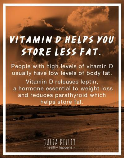 Facebook - Remember when we talked about Vitamin D?? This vitamin also helps Lep