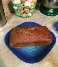 Success!!! Took my grandmas zucchini bread and did some substituting to make it healthy..