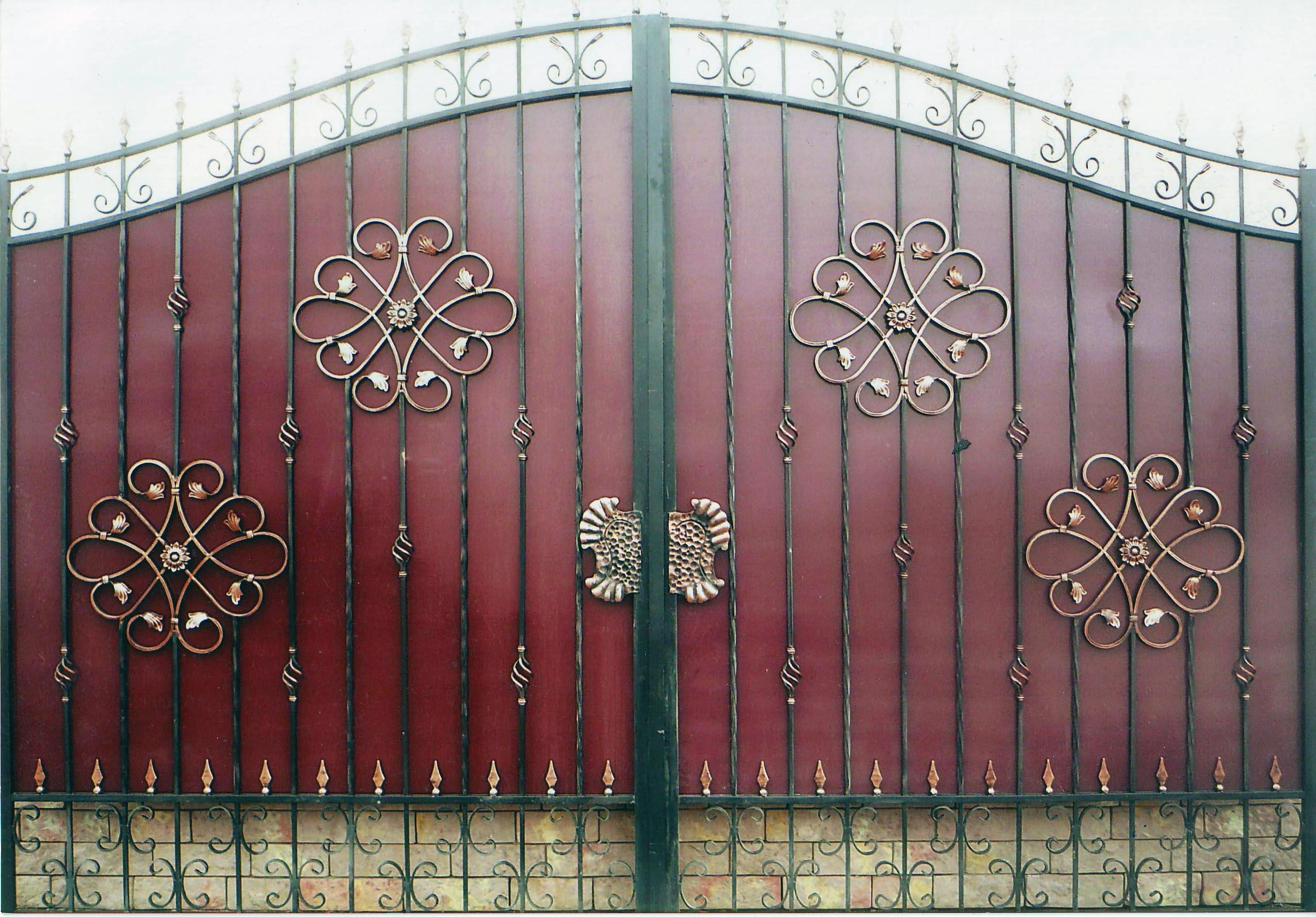 узоры для ворот своими руками фото разбойникам способность слиться