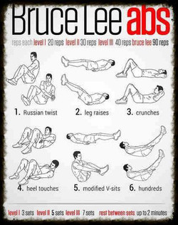 Today I'm training Bruce Lee style 😉 who wants to join me_