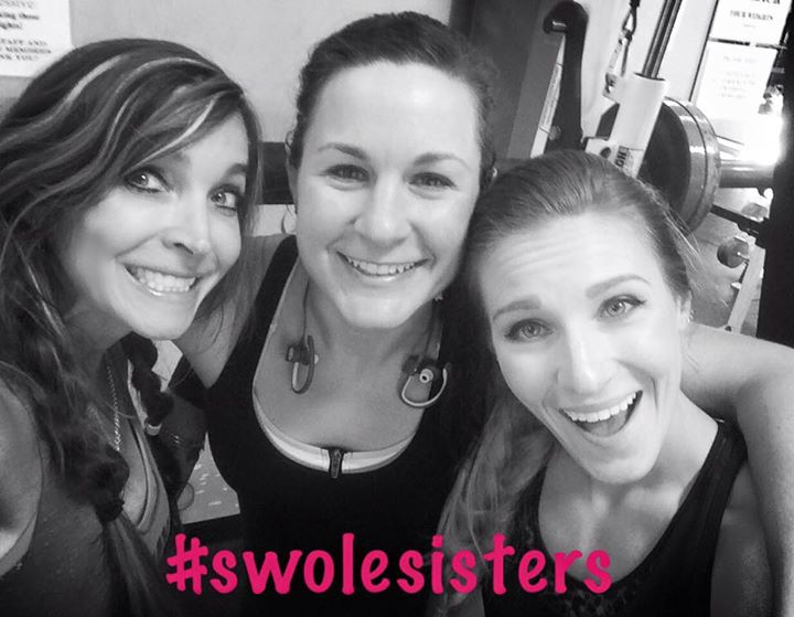 Lifting Is Always Better With My #Swolesisters #staystrong #girlswholift