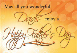 Love and smiles to all the daddies out there..
