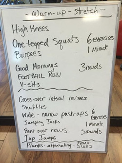Facebook - Wednesday workout! 😊 Get your day started! You can chose to do one r