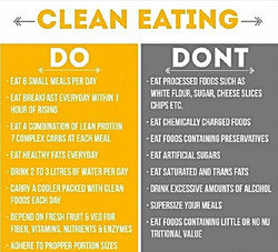 Facebook - Good morning!!! Clean eating isn't as difficult as some people make i