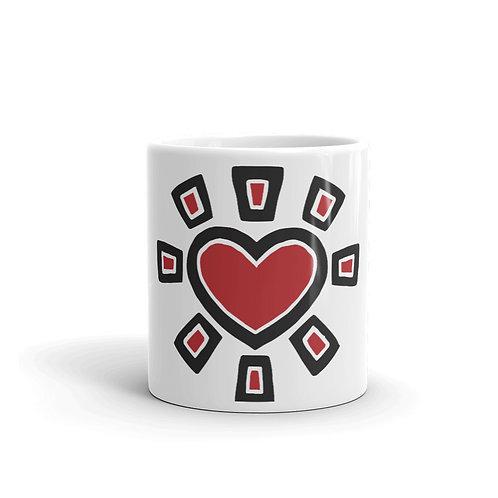 """""""Sun Heart"""" Mug"""