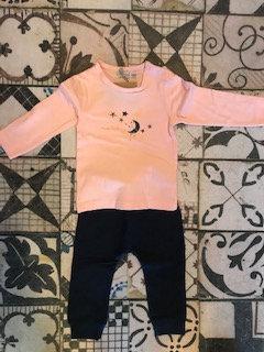 Conjunto camiseta y pantalón de algodón
