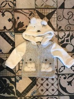 Chaqueta de algodón con capucha