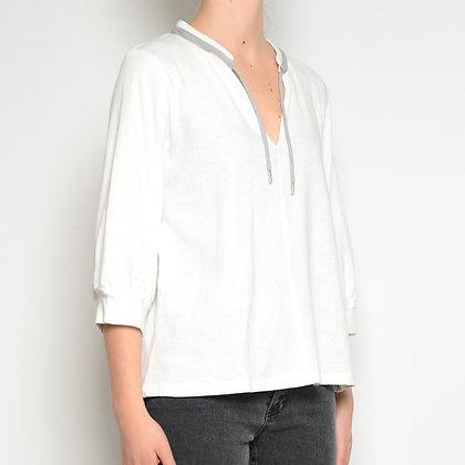 Camisa manga francesa