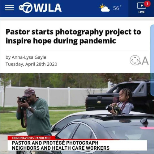 WJLA 7 News Coverage for Meet Me Outside