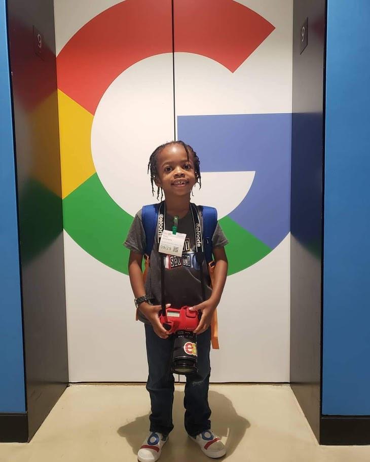 Visit to Google