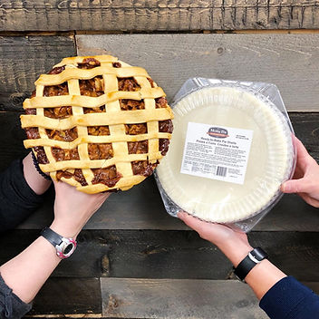 Apple pie made with Molly Bs Gluten-Free Kitchen pie crust - photo from Nutters Everyday Naturals