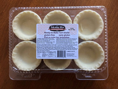 Our ready-to-bake tart shells