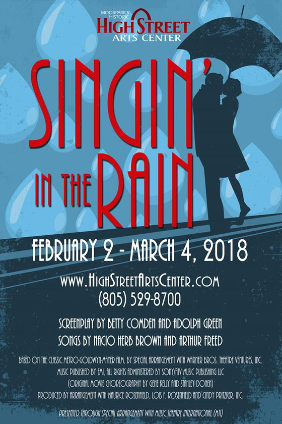 """Singin' in the Rain: The Musical"" - A Well-Executed Mess"