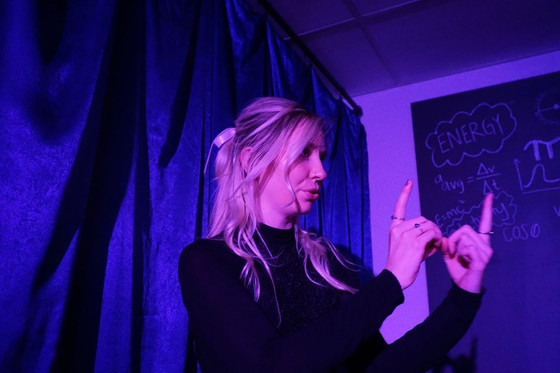 Show About Life and Love Shines in Cozy Studio