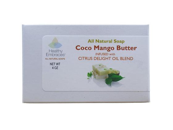 Coconut Oil & Mango Butter - Citrus Delight