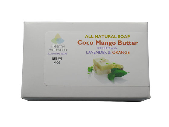 Coconut Oil & Mango Butter - Lavender/Orange