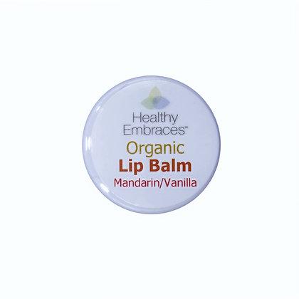 Mandarin/Vanilla Lip Balm