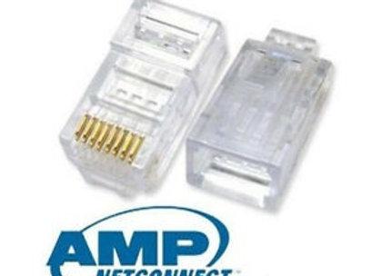 Amp rj45 cat5