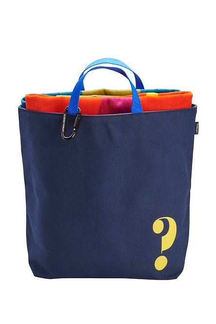 CANVAS TOTE NAVY