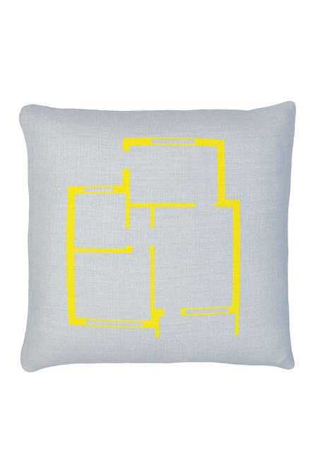 FLOOR PLAN PILLOW
