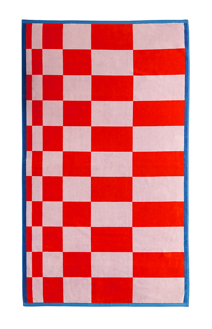 copy of LATERAL OBJECTS X MSGM RALLY TOWEL