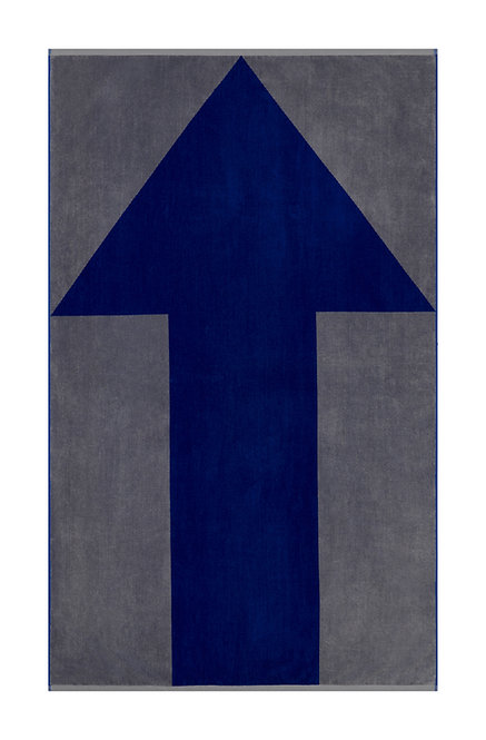 Lateral Objects Up Arrow Towel, luxury designer beach towel