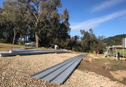 Long 25 meter roof sheets
