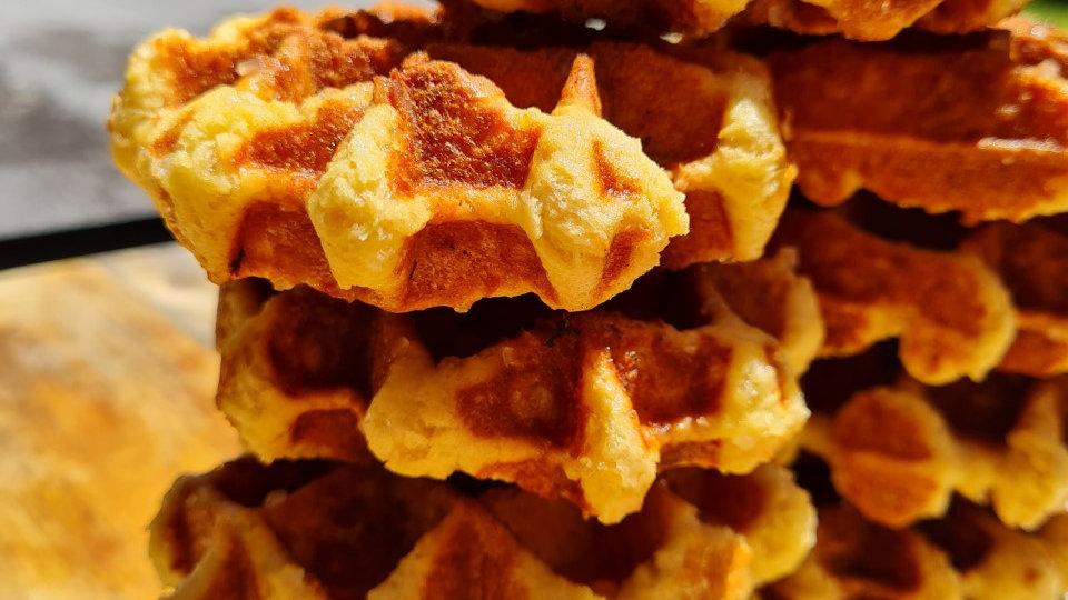 24xWafflinis (baby sugar Waffles) – rich, sweet and chewy