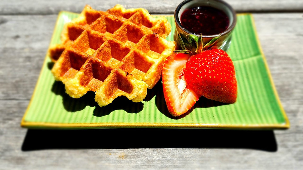12xSugar Waffles – rich, sweet and chewy