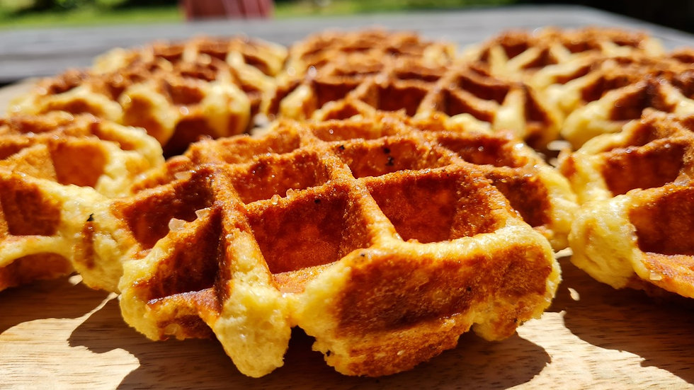 6xSugar Waffles – rich, sweet and chewy