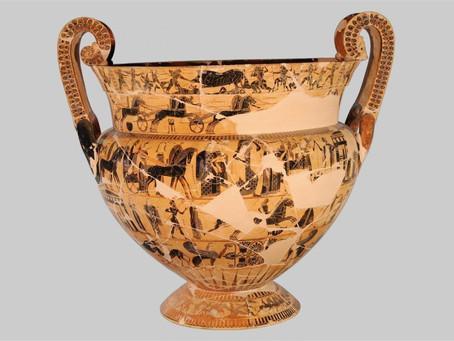 Dolciano e il vaso di François.